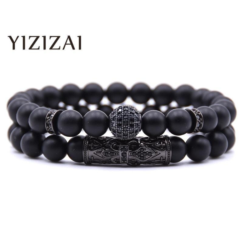 AliExpress - YIZIZAI CZ Bracelet Charms Pulsera Men Jewelry Stone Bracelets Bangles Pulseira Masculina For Women Bileklik Pulseras Handmade
