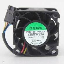 4 CM 4028 12 V 8,0 Watt PMD1204PQBX-A/4 linie server fan