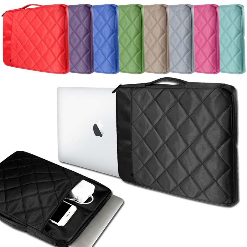 KK&LL For Apple Macbook Air / Pro / Retina / New Air 11 12 13 15 inch - Carrying Zipper Laptop Sleeve Pouch Case Bag