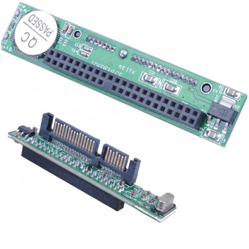 44 Pin Serial 2.5 polegada PATA Para SATA IDE Hard Drive Adapter Converter HDD CD DVD Cartão de Conector