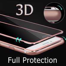 Титановый сплав металлическая рамка 3D изогнутые края защита экрана закаленное стекло полное покрытие для iPhone X 10 стеклянная пленка