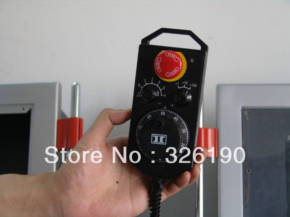 Generador de pulso Manual, pulsador práctico, rueda de mano, MPG con parada de emergencia y interruptor de activación