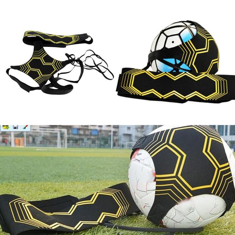 Balón de fútbol, bolsas de malabares, equipo de entrenamiento de fútbol, Solo para niños, cinturón auxiliar de entrenamiento, entrenador de fútbol para niños, patada de fútbol