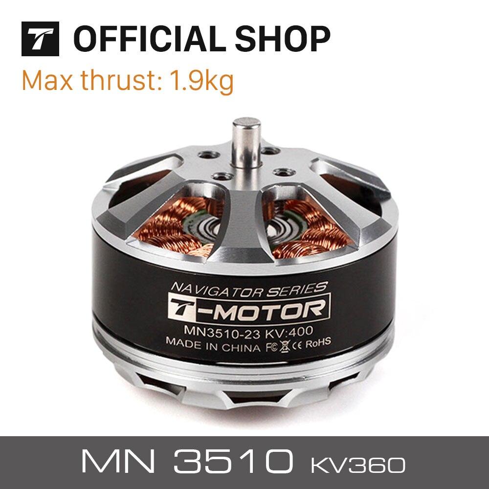 T-Motor MN3510 KV360 KV630 KV700 motor sin escobillas para UAV/RTF RC Drones profesional de radio Control de Motor