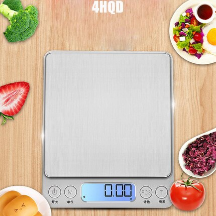 Báscula Digital de cocina 1 KG multifunción Mini alimentos aperitivos líquidos hornear báscula de joyería eléctrica con pantalla LCD envío gratis