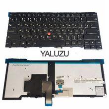 YALUZU russe pour LENOVO pour ThinkPad T440S T440P T440 E431 T431S E440 L440 T460 T450 RU clavier dordinateur portable avec rétro-éclairage