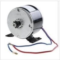 bicycle modification 24v250w electric car scooter motor my1025 brush high speed motor
