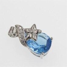 Diy clássico coração pingente colar feito com cristais de swarovski fina caixa corrente para novo presente feminino #5