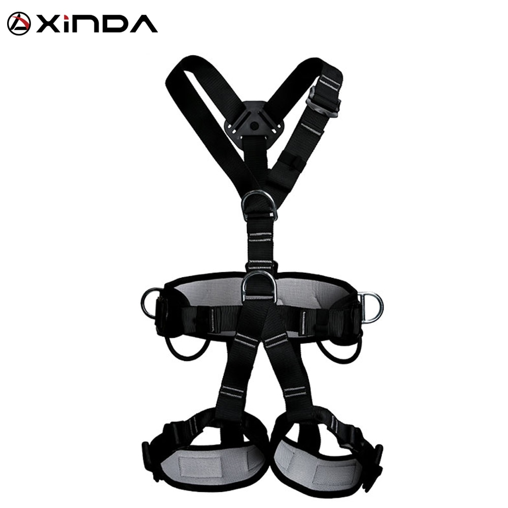 XINDA Top Quality Professional Harnesses Rock Climbing High altitude protection Full Body Safety Bel