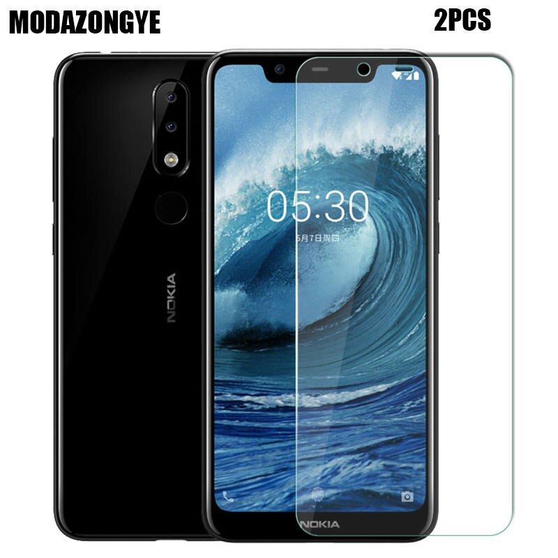 Screen Protector For Nokia 5.1 Plus Tempered Glass Nokia 5.1 Plus Protective Film Glass For Nokia 5.