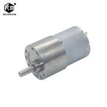 Eccenric arbre tout métal diamètre 37mm   Boîte de vitesses DC12V 24V moteur de réduction avec arbre de Type D moteur de réducteur
