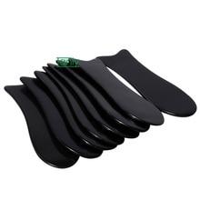 200pcs/lot 100% Buffalo Horn elaborate very smooth Traditional  Massage Tool fish Guasha Board