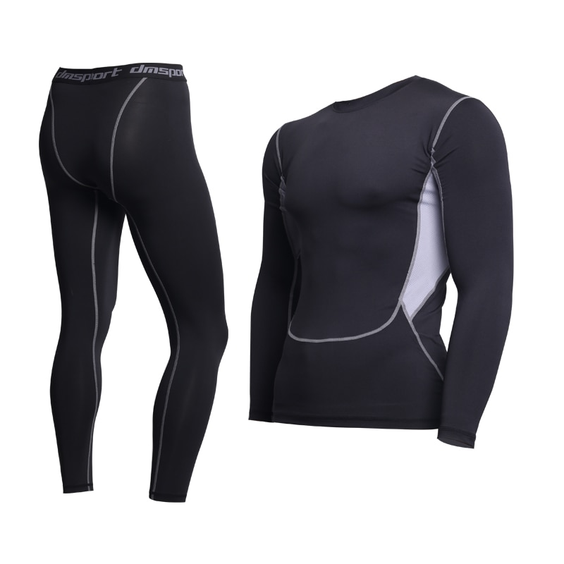 Thermal Underwear For Men Male Thermo Clothes Long Johns Thermal Tights Winter Long Compression Unde