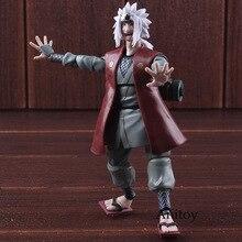 SHF Naruto Shippuden Jiraya Figure Daction PVC Naruto Figurine À Collectionner Modèle Jouet
