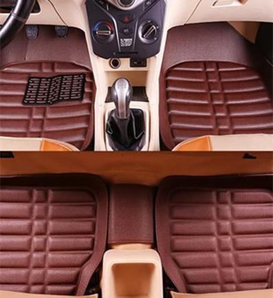 Alfombrillas para el pie de la alfombra del coche de automóviles para hond civic 2008 civic 2006-2011 4d, accesorios accord 2003-2007 crv 2008 jazz 2006, alfombrillas para el coche