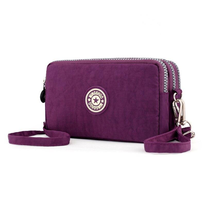 Bolso de nailon impermeable para mujer, bolso de mano informal, cartera para mujer, bolso de mano para mujer, bandolera, bolsos de hombro