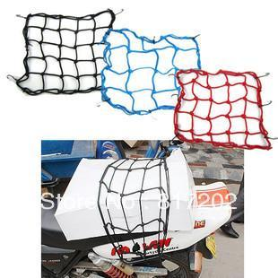 Hot Sale  Wholesale Motorcycle Bike ATV Offroad Board GoCart accessories Helmet Net TANKED TKD RACING Universal Bungee Cargo Net