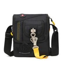 2018 High Quality Nylon Men Sling Cross Body Bag Square Purse Travel Fashion Trends Multi-Capacity Male Shoulder Messenger Bags