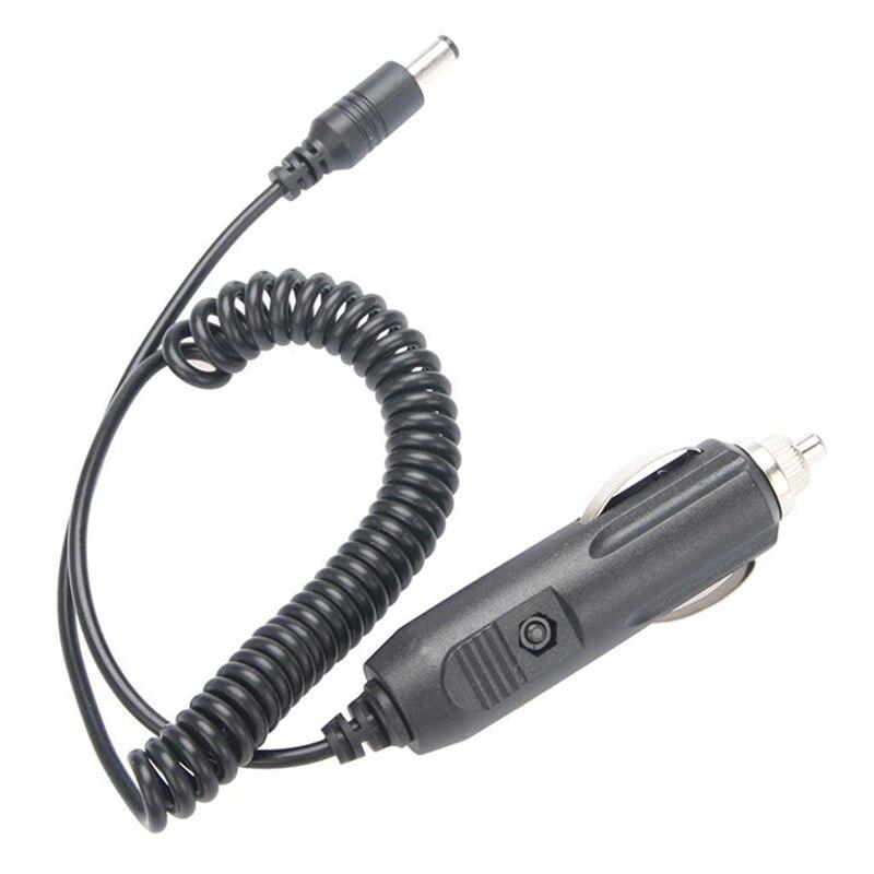 Автомобильное зарядное устройство для путешествий, 12 В, аксессуары для кабеля Baofeng, портативная рация для Baofeng UV-5R, UV-B5, UV-B6 Plus, UV-5RE