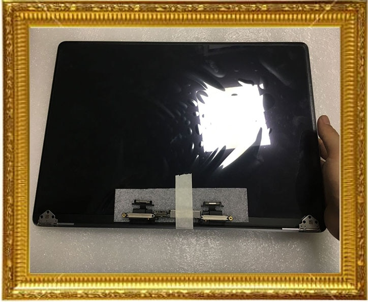 "Nuevo conjunto de pantalla LCD A1707 Color plata gris 2016 2017 para Macbook Pro Retina 15 ""A1707 pantalla LCD montaje completo"