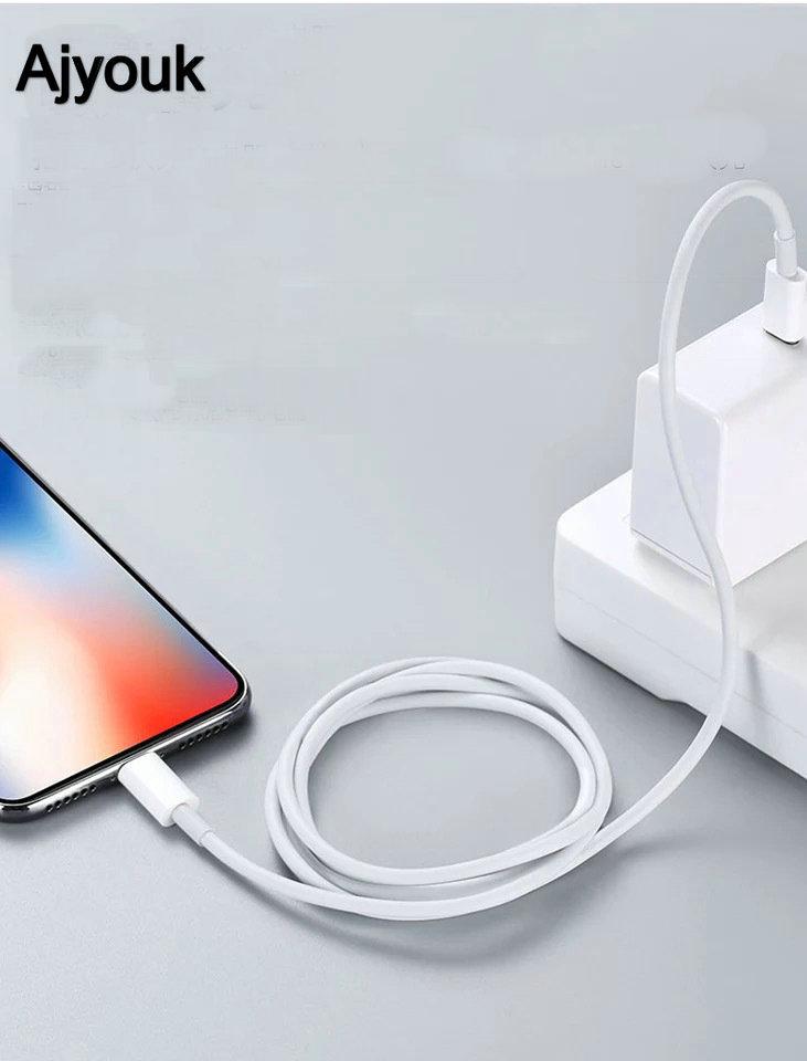 100 piezas. 1 M USB-C PD carga rápida para Lightning USB3.1 tipo c Cable adaptador de cargador línea para iPhoneX /8/Xs Max para iPhoneXR