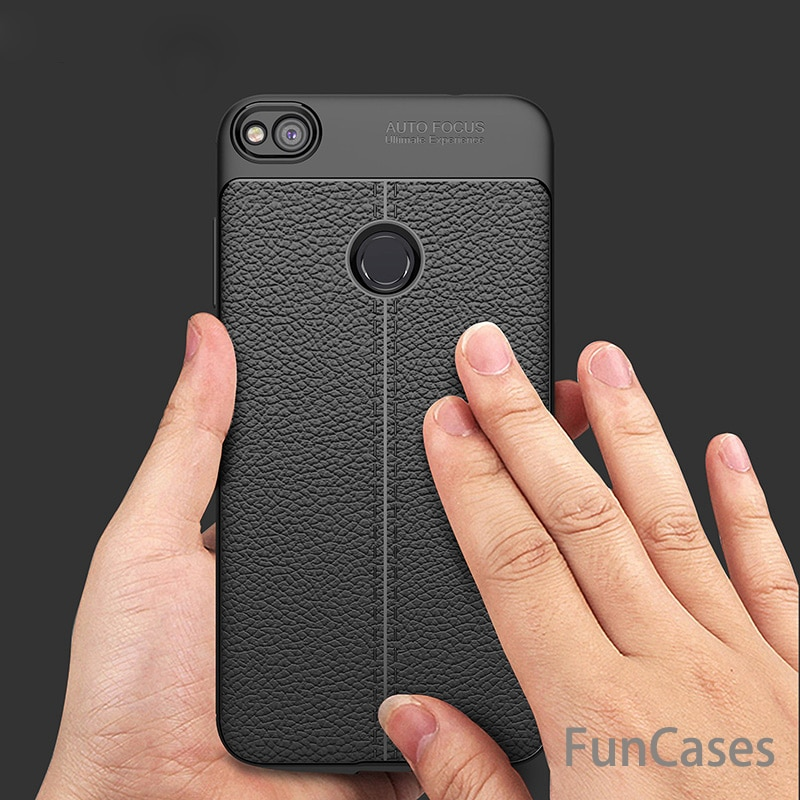 Funda de cuero de lujo TPU funda para Huawei P9 Lite P10 lite P10 Plus Marco de silicona cepillado para el Huawei P8 Lite 2017 honor 8 lite 9