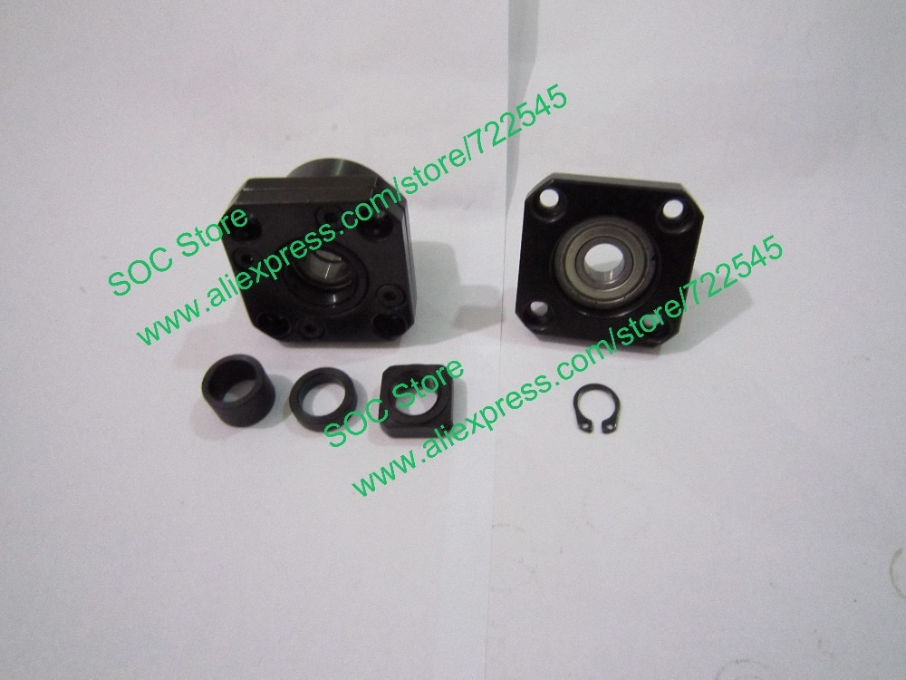 FK15 & FF15 Ballscrew End Support CNC Parts