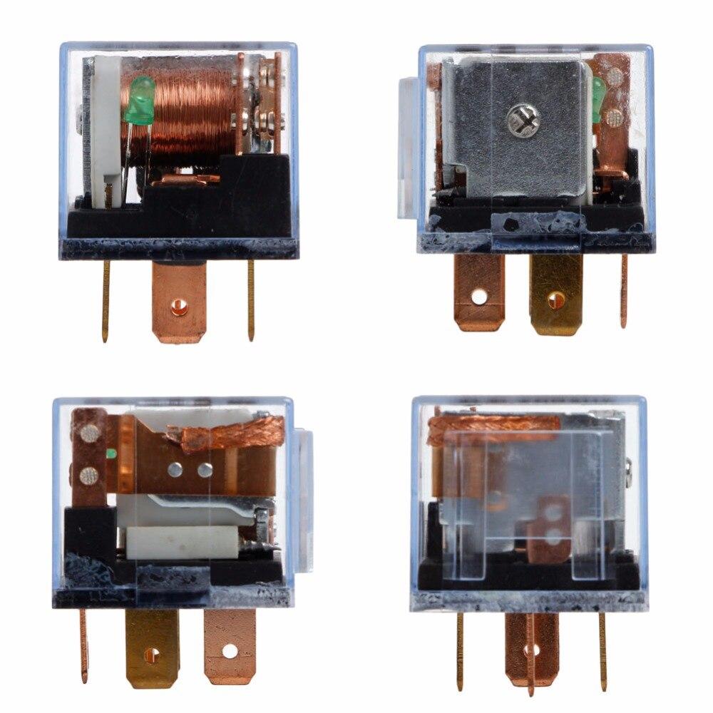 Relé automotriz impermeable de alta calidad 12V 100A 5Pin SPDT dispositivo de Control de coche relés para coches