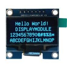 Módulo de pantalla oled azul de 1,3 pulgadas 128X64 7 pines interfaz SPI pantalla oled DIY diplay compatible para Arduino