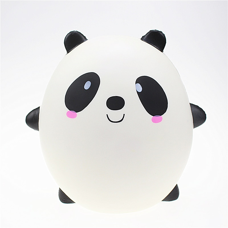 Dropshipping squishy slow rebound oversized panda egg toy PU simulation cartoon animal decompression toy ornaments
