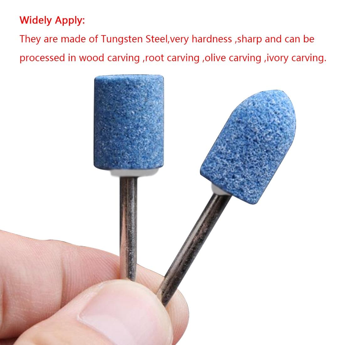 10 stks / set schurende steen voor Dremel roterende gereedschappen - Schurende gereedschappen - Foto 5