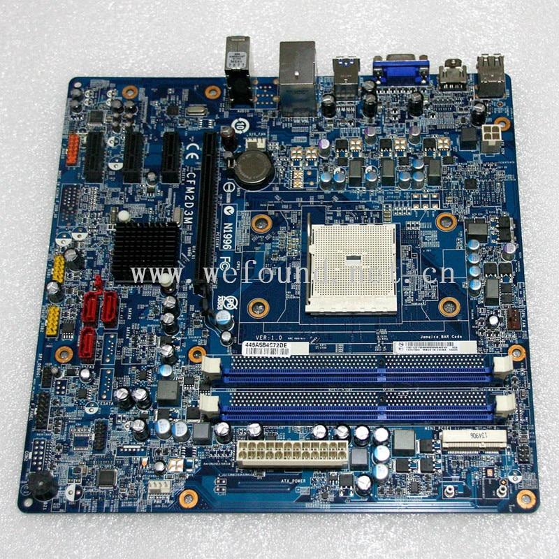 Placa base de escritorio 100% para H435 H535 CFM2D3M FM2 A75 Placa de sistema completamente probada