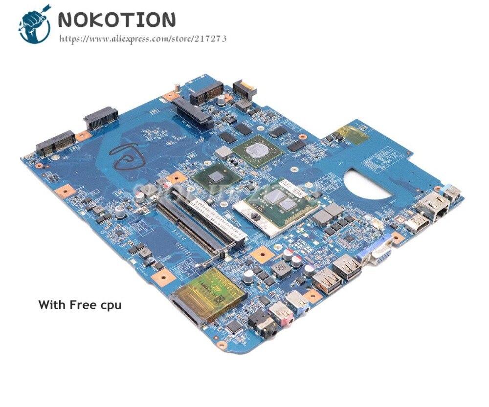 NOKOTION pour Acer aspire 5740 5740G carte mère MBPM701001 MBPM701002 48.4GD01.01M JV50-CP MB 09285-1M BAORD principal HD5650 1GB