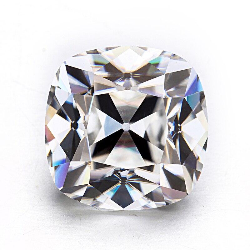 أعلى جودة العتيقة وسادة القديم الألغام قص 7x7 مللي متر EF اللون مختبر نمت Moissanites الماس.