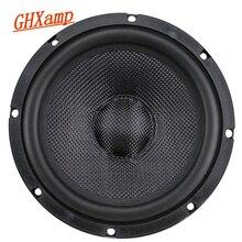 GHXAMP 6,5 дюймов Автомобильный Полнодиапазонный бас динамик композитный тканый горшок Средний низкочастотный громкий динамик длинный ход Дизайн Резина 1 шт.