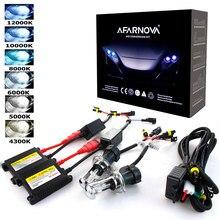 55W hid kit xénon H7 6000K 35W 8000K HID H7 xénon caché kit H11 xénon H7 4300K hid phares ampoules kit de conversion