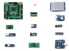 Altera Cycone ii EP2C5 EP2C5T144C8N ALTERA Cyclone II carte de développement FPGA + 13 Kits de modules daccessoires = OpenEP2C5-C le paquet A