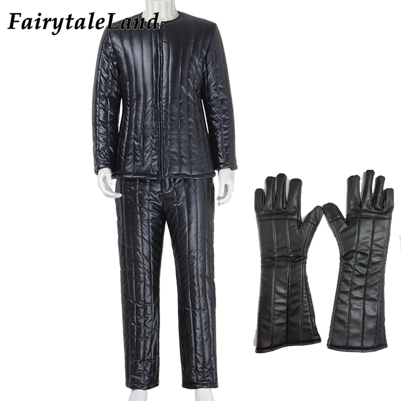Star Wars Darth Vader cosplay costume Halloween costume Cosplay Accessories Darth Vader cosplay Top pants black suit Gloves