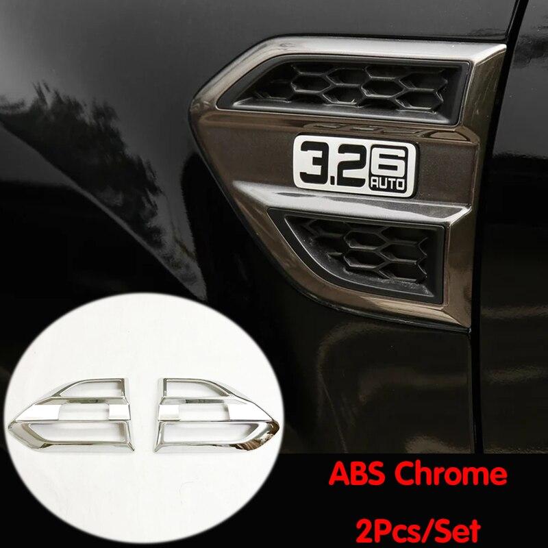 Chromowane akcesoria samochodowe abs stylizacja dla Ford Ranger 2016 2017 2018 2019 2020 karoseria side Turn Light lampa panel obudowa tapicerka