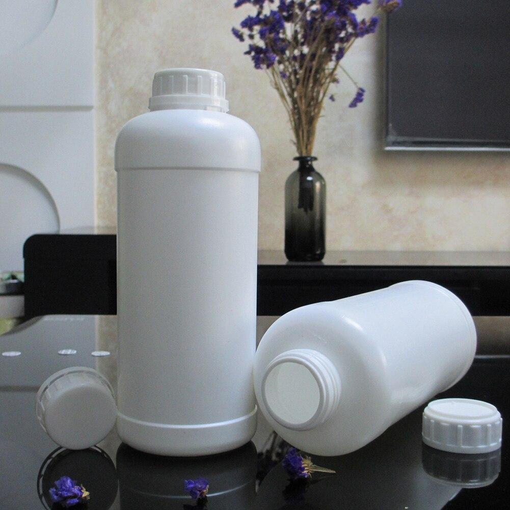 Garrafa recarregável do armazenamento do banheiro da imprensa da loção vazia do frasco do sabão líquido do recipiente plástico grande da lavanderia do frasco 1000ml