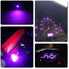 10x5050 1SMD T5 B8.5D ampoule Led rose violet universel ajustement pour voiture tableau de bord indicateur davertissement voiture-style T5 Led ampoule