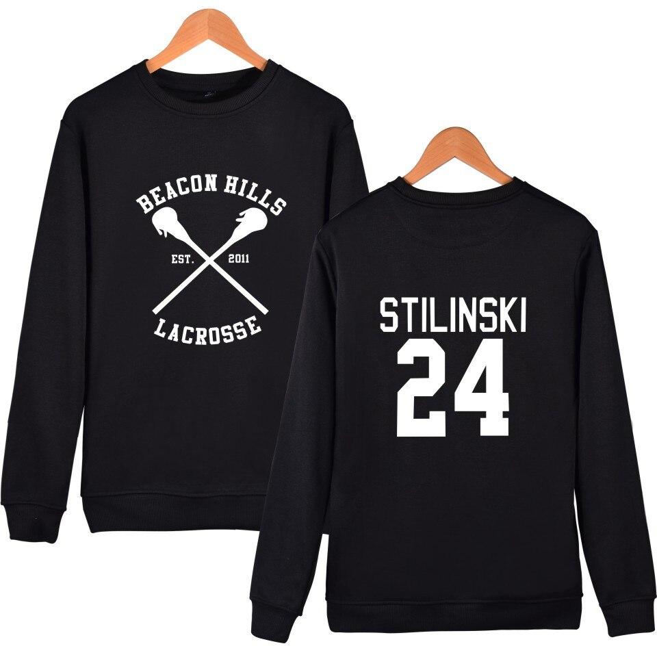 Толстовки с капюшоном для подростков, волков, Stilinski 24, Dunbar McCall moletom, толстовка с капюшоном размера плюс, пуловер, спортивный костюм, одежда