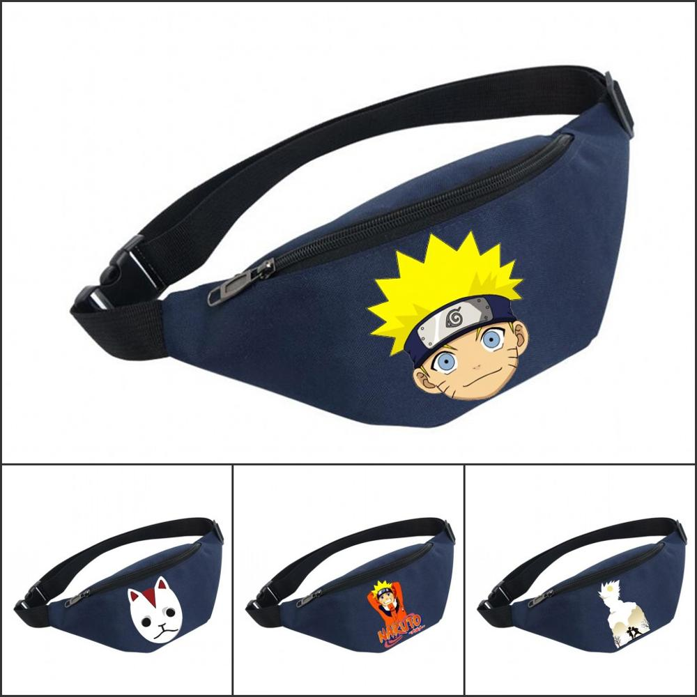 Waist Bag women Belt Waterproof Chest Handbag Unisex Fanny Pack Ladies Waist Pack Belly Bags For Naruto