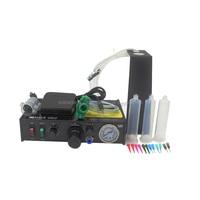 1PC FT-982 Semi-automatic Glue Dispenser Glue Dispenser machine Glue Dispenser Solder Paste Liquid Controller 220V