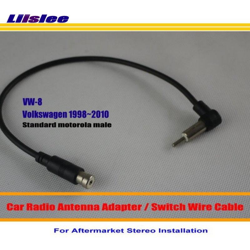 Адаптер для радио Liislee, для Volkswagen Beetle Cabrio Golf Jetta Passat