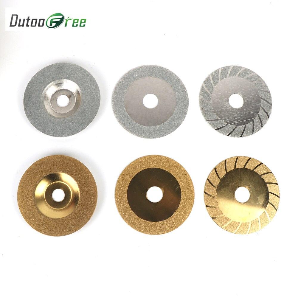 Dutoofree, accesorios dremel de 100mm, Disco de corte de diamante, Mini sierra Circular, muela de pulido para herramienta giratoria, herramienta eléctrica