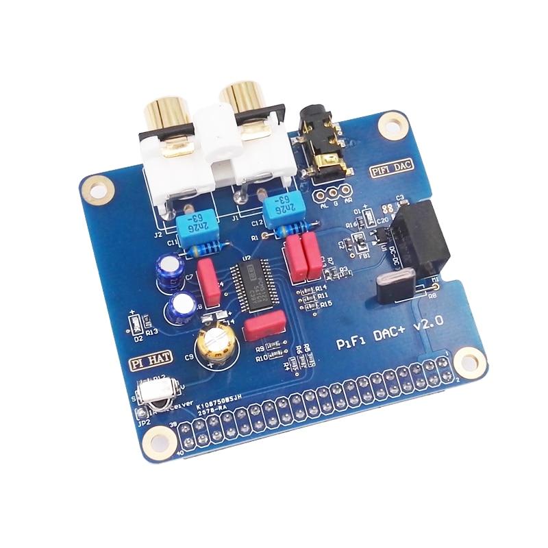 Raspberry pi 3 ، واجهة HIFI DAC I2S ، وحدة بطاقة الصوت الخاصة ، piB pi2 pi3