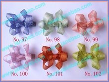 free shipping 60pcs 2.5'' bud hair clips bitty  hair bows  Style-B