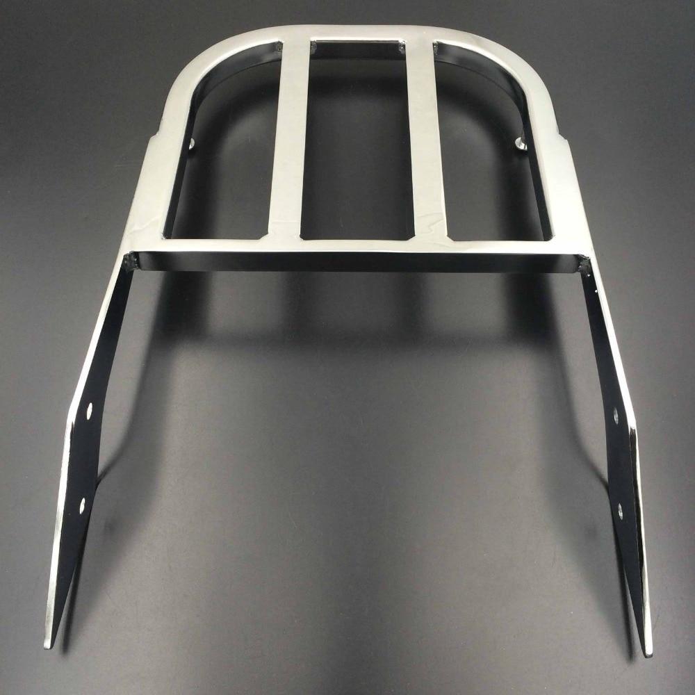 Porte-bagages de barre de Sissy de Chrome de moto pour 03-06 Honda VTX 1300 N 2002-2008 VTX 1800 N