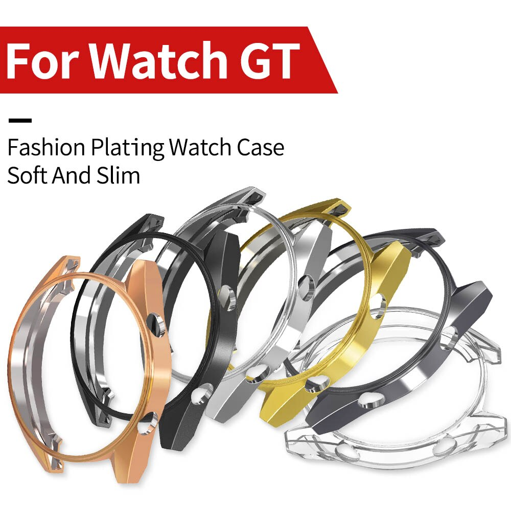 For Huawei Watch GT 2/1 46mm 42mm Case Lightweight Cover Protect Shell Soft Tpu Thin Bumper Fashion